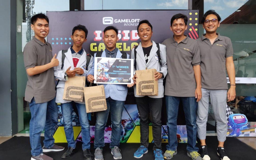 Jadi Jawara Di Ajang Gameloft Student Competition: Programming, Mahasiswa PENS Raih Juara Pertama