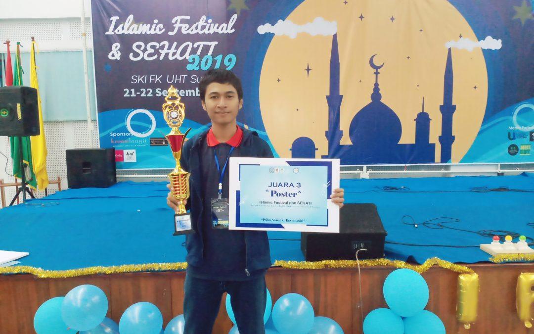 Mahasiswa MMB PENS Sukses Raih Juara Ketiga Kategori Poster dalam Ajang Islamic Festival dan SEHATI