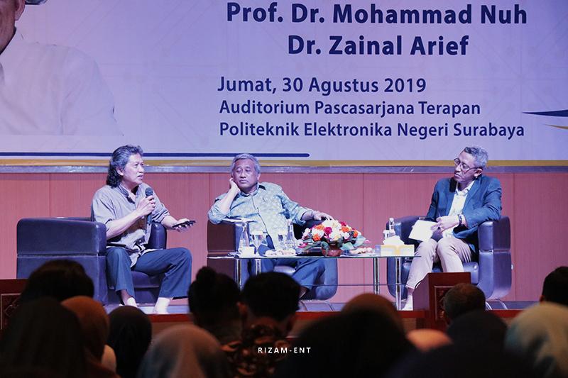Peringati Dies Natalis ke-31, PENS Gelar Sarasehan Bersama Cak Nun dan Prof. Muhammad Nuh