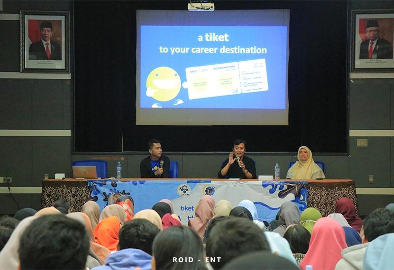 Bekerjasama dengan Tiket.com, Prodi Teknik Informatika PENS Siapkan Mahasiswa Berkarir di Dunia Industri
