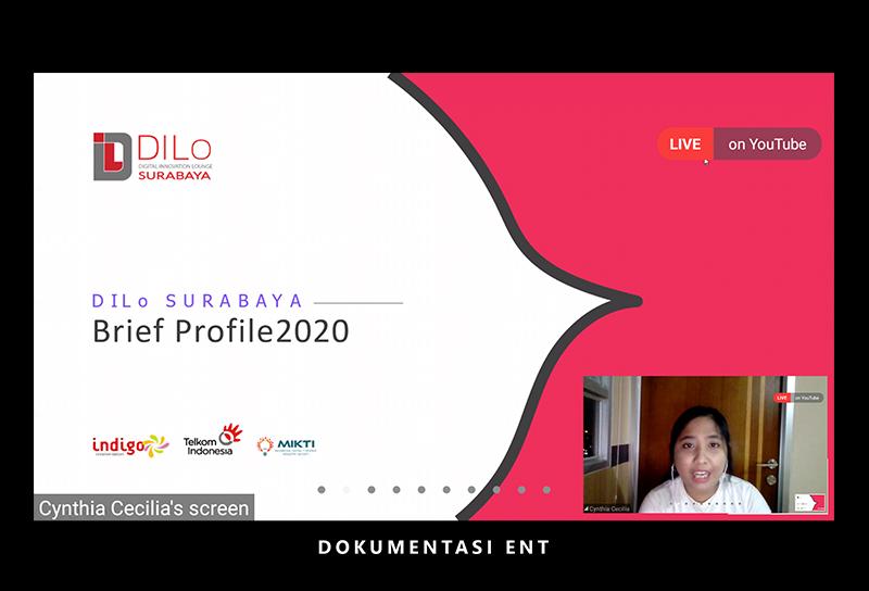 Berkolaborasi dengan Prodi Teknik Komputer PENS, DILo Surabaya Helat Webinar UI/UX