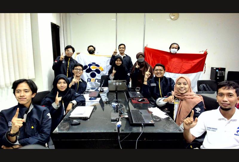Perdana Berlaga di CanSat Competition, Tim Bamantara PENS Berhasil Meraih Peringkat Ke-6 Dunia